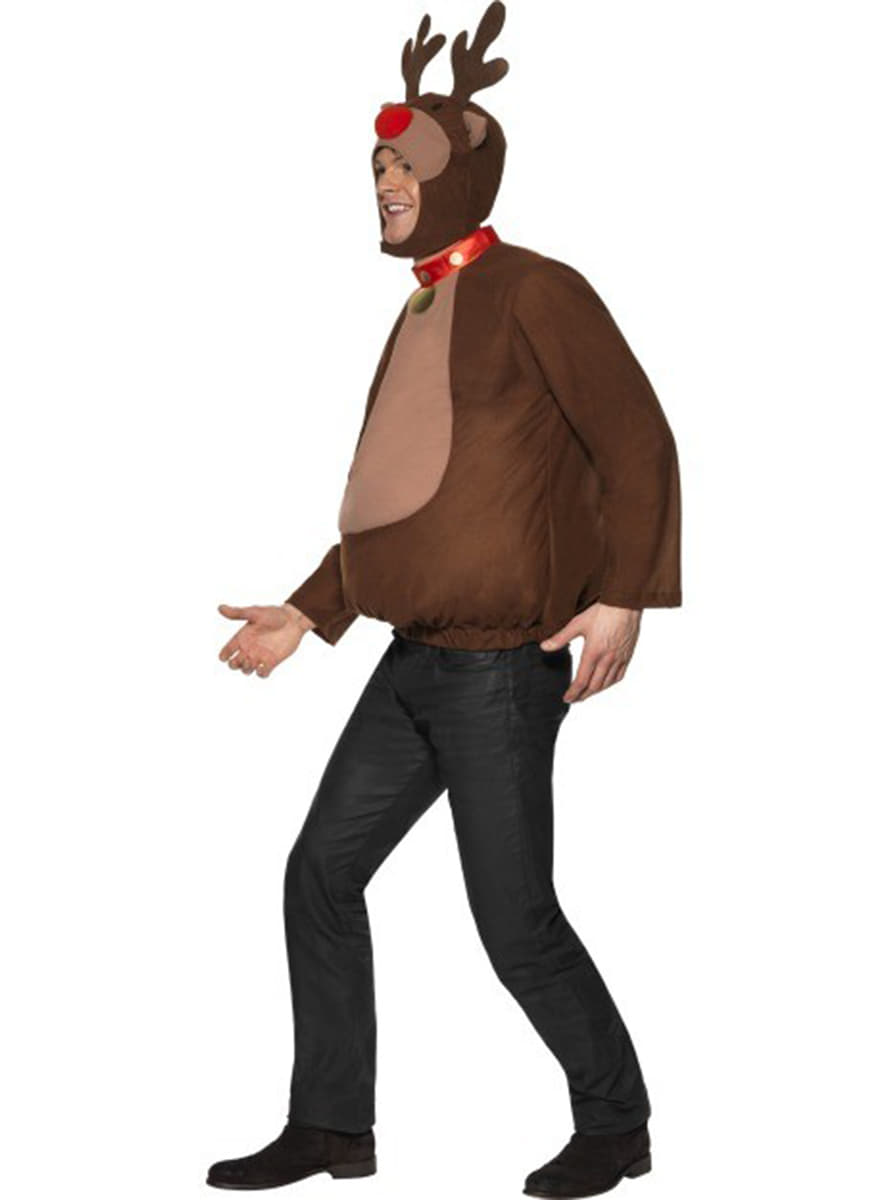 disfraz de reno rudolf