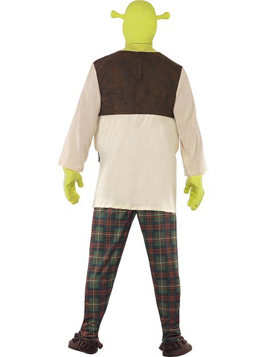 costume de shrek haut de gamme adulte acheter chez funidelia au meilleur prix. Black Bedroom Furniture Sets. Home Design Ideas