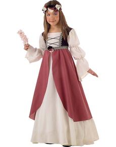 disfraz de clarisa medieval nia