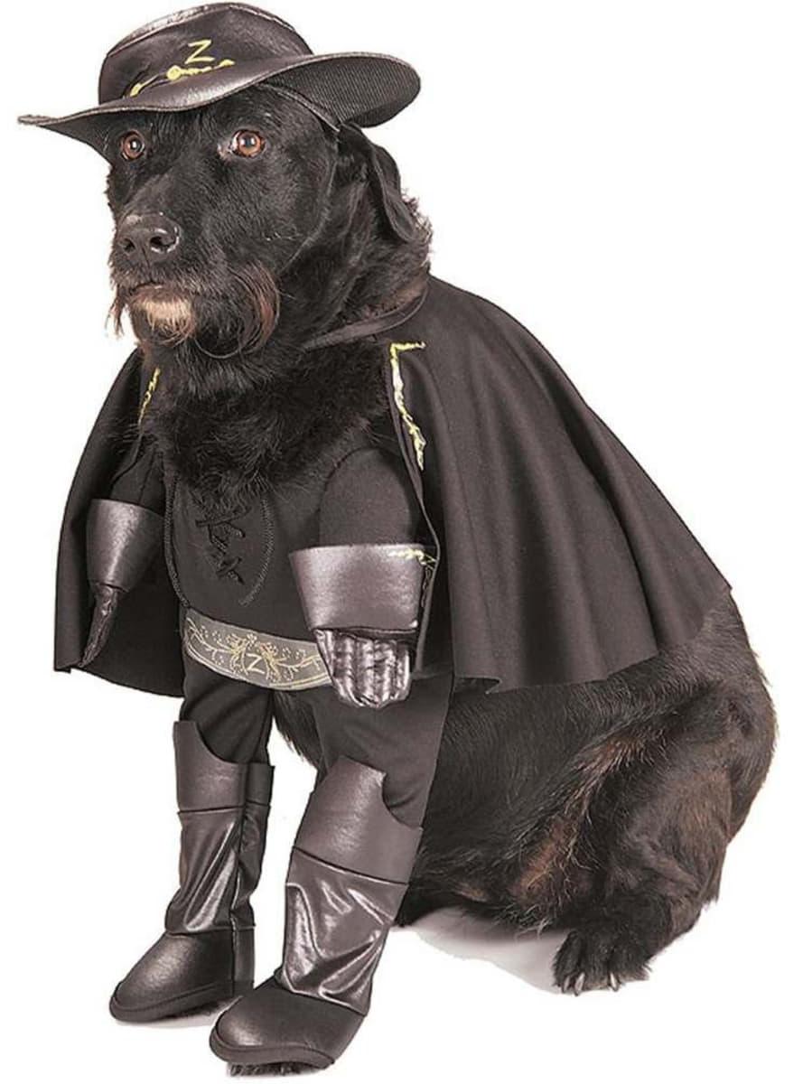 Disfraz de el zorro para perro funidelia
