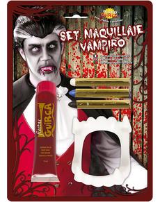 pack maquillaje de vampiro