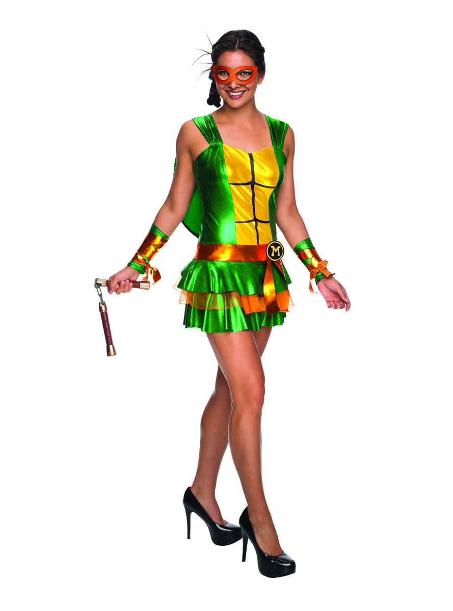 Costume michelangelo les tortues ninja femme - Michaelangelo tortue ninja ...