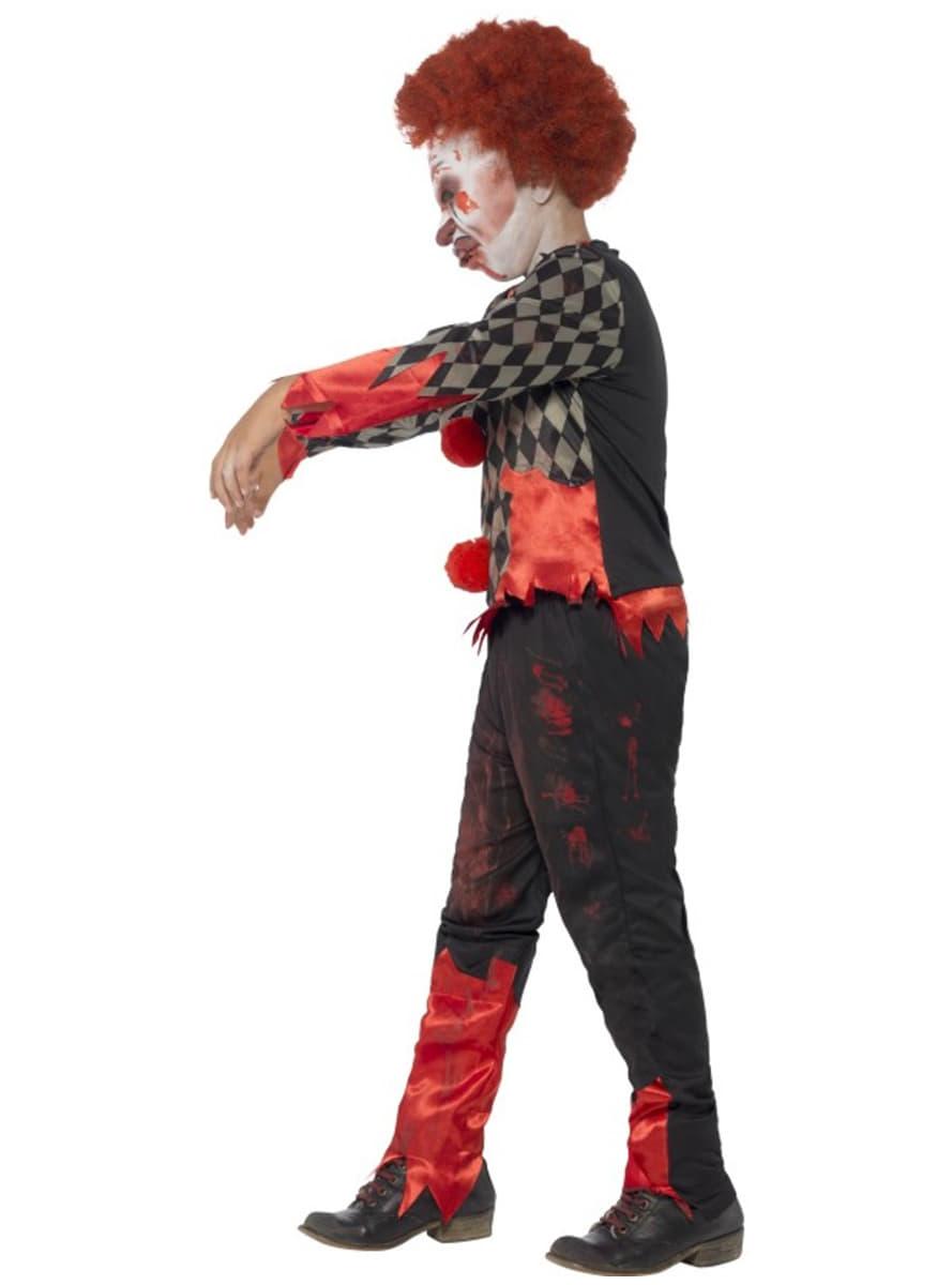disfraz de mueco diablico zombie para nio