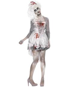disfraz de poca zombie para mujer