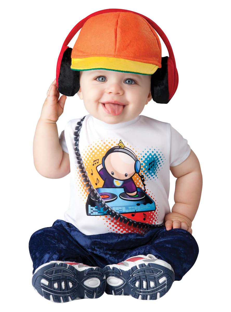 disfraz de dj enrollado para beb