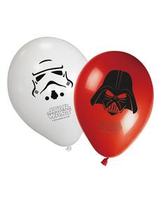 Set de 8 globos Star Wars & Heroes