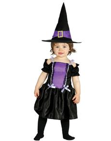 disfraz de bruja violeta para beb