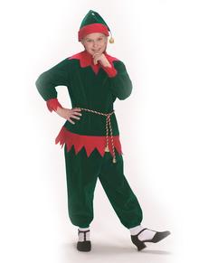 disfraz de elfo navideo tradicional infantil