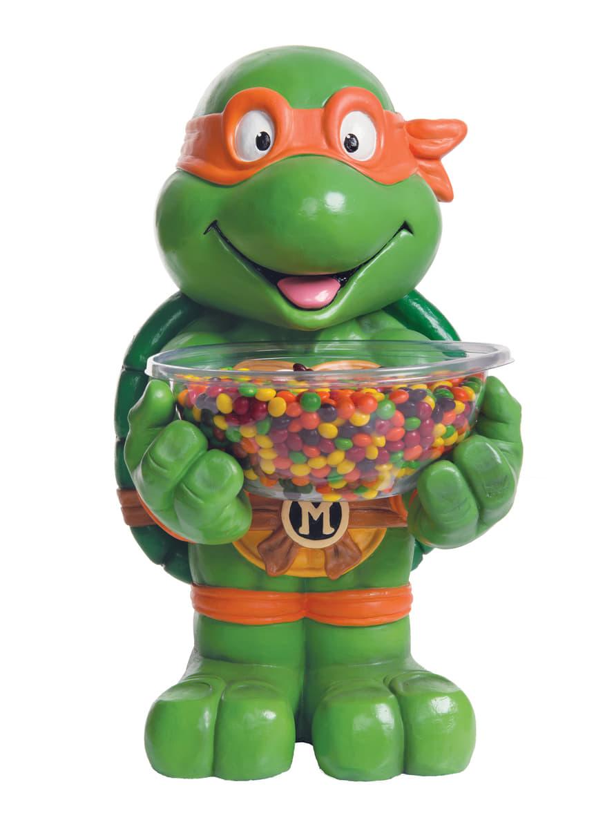 Pr sentoir bonbons michelangelo les tortues ninja de - Tortues ninja michelangelo ...